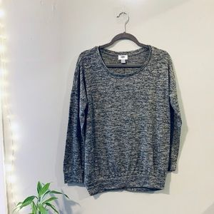 Old Navy Heathers Long Sleeve Crewneck Sweater